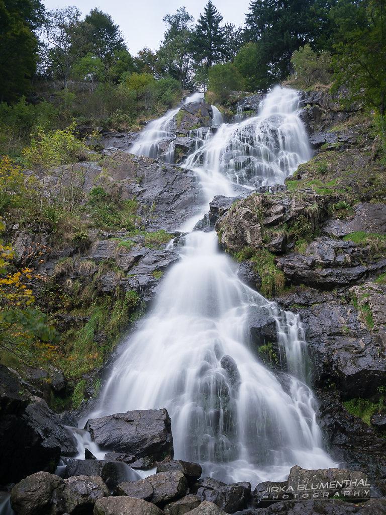 Todtnauer Wasserfall im Schwarzwald